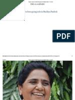Analysis_ Congress Benefits From Going Solo in Madhya Pradesh - The Hindu