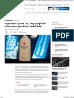 Kapitalisasi Pasar J & J Lenyap Rp 580 Triliun Gara-gara Kasus Bedak Bayi