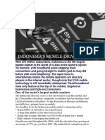 Indonesia Market Online Based Report