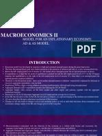 Macroeconomics II as Ad Model