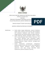 PMK No. 76_ttg Pedoman INA-CBG Dalam Pelaksanaan Jaminan Kesehatan Nasional
