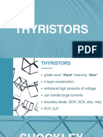 Lecture 1 - Thyristors, Shockley Diode, SCR - Copy