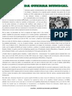 Articulo La Segunda Guerra Mundial