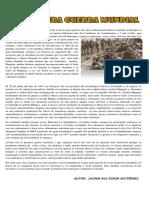 Articulo de La Primera Guerra Mundial
