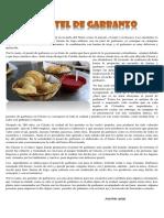 Artículo Pastel de Garbanzo