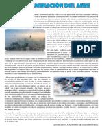 Articulo Contaminacion Del Aire