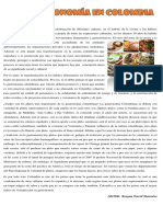 Artículo La Gastronomía Colombiana