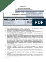 Formularios Licitacion Publica