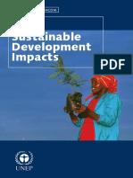 Sustainable Development Impacts