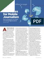 Hacia El Periodismo Móvil