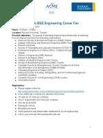 ASME & IEEE Engineering Career Fair - Information Package v11