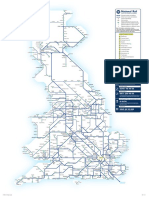 Official National Rail Map Large