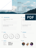 Download Contoh CV Kreatif Pdf Doc Timeline doc.docx