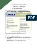 2 Fundamentals of ABAQUS CAE
