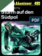 Das Neue Abenteuer 492 - Horst Czerny - Sturm Auf Den Südpol