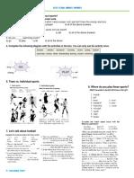 5 Sport Lesson