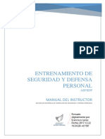 Manual de Entrenamiento en Seguridad y Defensa Personal