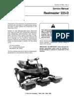Toro Reelmaster 223-D Mower Service Repair Manual.pdf
