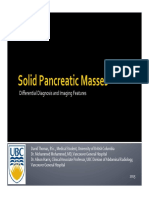 EE015 Solid Pancreatic Masses Differential Diagnosis and Imaging Features Thomas