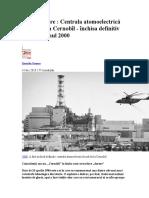 Cernobal Inchis in Anul 2000