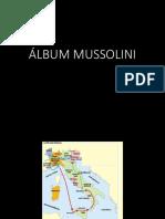 Álbum Mussolini