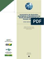 Embrapa 2014 Inventario de GEE no Acre (Ano Base 2012)