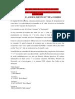 Estructura Del Programa Visual Foxpro