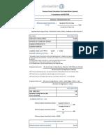 Pressurization Unit Pressure Vessel Calculation