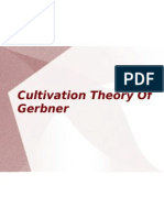 Cultivation Theory of Gerbner