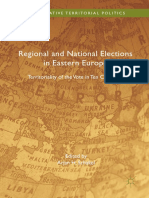 (Comparative Territorial Politics) Arjan H. Schakel (eds.)-Regional and National Elections in Eastern Europe_ Territoriality of the Vote in Ten Countries-Palgrave Macmillan UK (2017).pdf