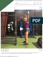 "The Movement Report ?️ en Instagram ""Great movement prep for overhead squats,"