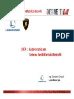 Laboratorio per sistemi ibridi retrofit