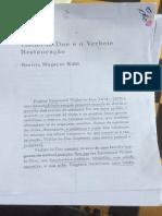 Viollet Le Duc e o Verbete Da Restauração