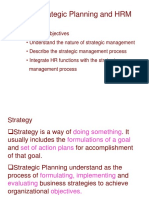 Strategic Planning and HRM - L 2
