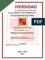 Trabajo de Investigaciòn n5 Electronica Industrial