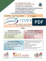 Manifesto Coppa Natalina 2018