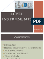 Lecture 13-Level Meters