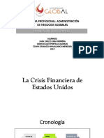 La Crisis Financiera de Estados Unidos