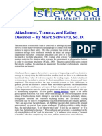 Attachment, Trauma, and Eating Disorder – By Mark Schwartz, Sd. D.