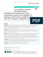 Primary Caregivers Healthcare Workers Teachers And