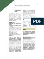 Obtención de Metabolitos Primarios a Nivel Industrial