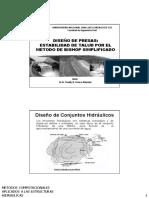 Diseño de Presas_estabilidad 2016