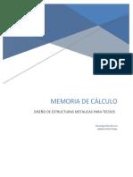 Memoria de Calculo Tijeral Noviembre 2018