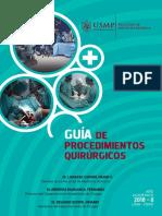 Libro procedimientos quirurgicos USMP