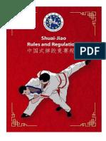 Shuai Jiao Rules and Regulations