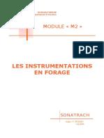 Les Instrumentations en Forage