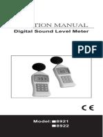 Manual Az8922