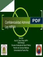 Ley HIPAA