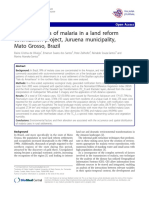 Spatial Imagery Malaria Analysis