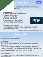 Presentation VTigerCRM